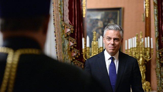 Посол США Хантсман встретился с мэром Екатеринбурга
