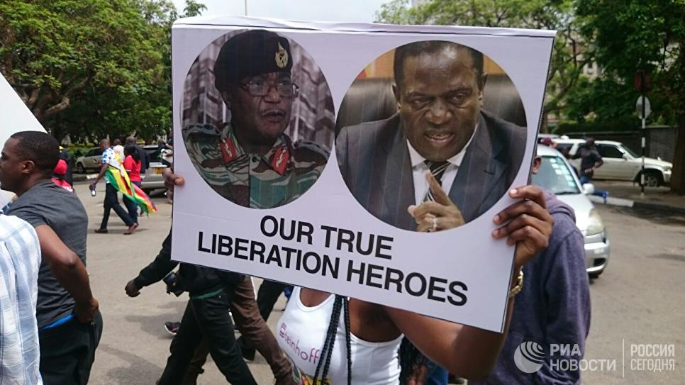 Президент Зимбабве Мугабе ушел вотставку