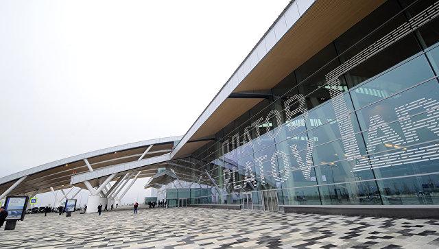 Здание нового аэропорта Платов в Ростове-на-Дону. Архивное фото