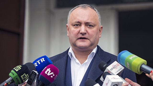 Додон надеется на получение Молдавией статуса наблюдателя при ЕАЭС
