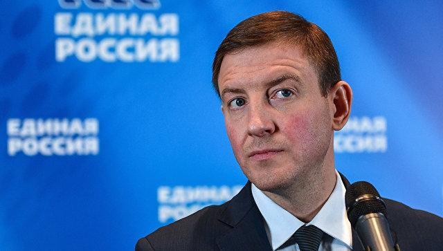 Исполняющий обязанности секретаря Генерального совета Единой России Андрей Турчак. Архивное фото