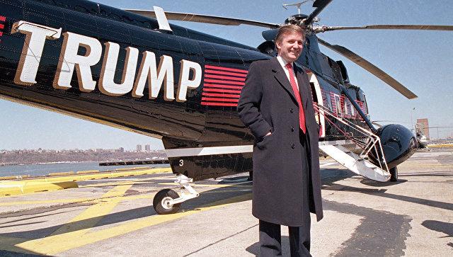Дональд Трамп в Нью-Йоркском аэропорту. 22 марта 1988