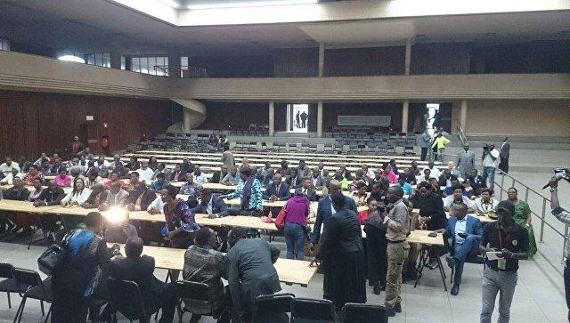 Заседание правящей партии Зимбабве