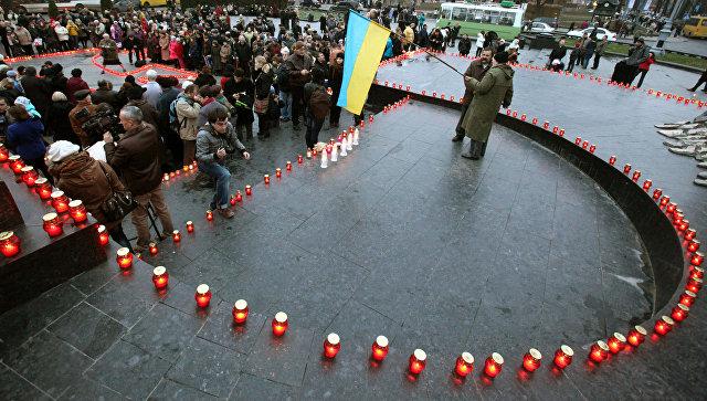 День памяти жертв Голодомора во Львове. Архивное фото