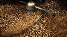 Обжарка кофе. Архивное фото
