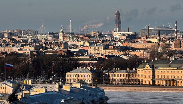 Вид на Санкт-Петербург. Архивное фото