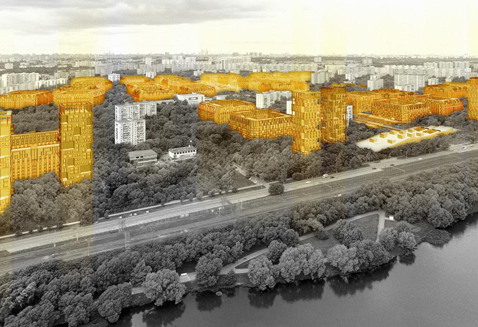 Концепция площадки реновации в районе Царицыно от АБ Студия 44