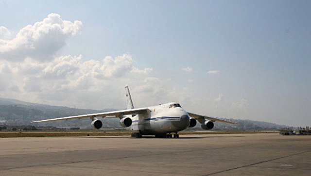 Самолет Ан-124 Руслан. Архив