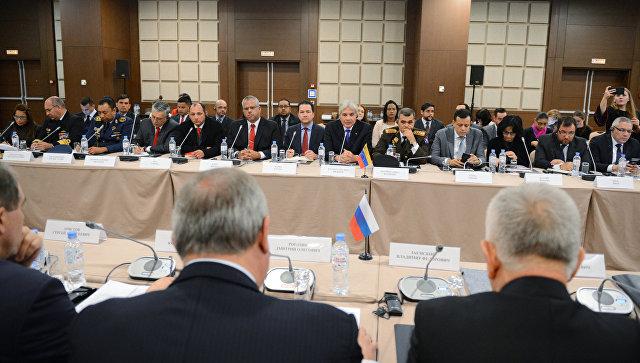 Заседание Межправительственной российско-венесуэльской комиссии высокого уровня. 24 ноября 2017