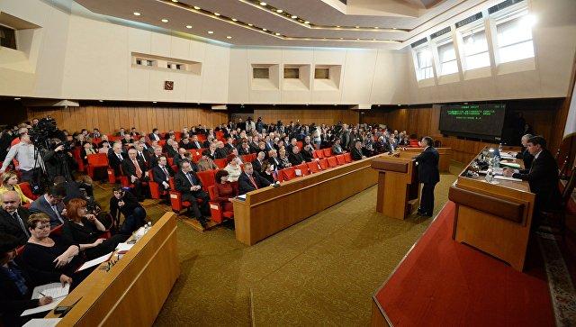 Депутаты парламента Крыма, архивное фото