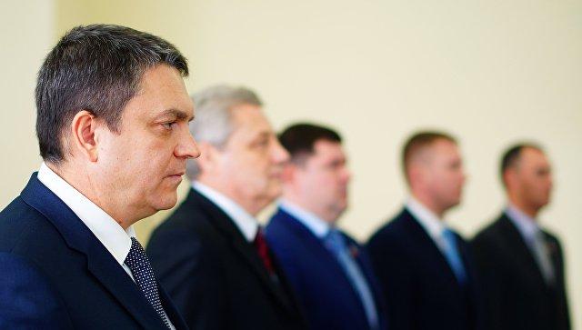 И. о. руководителя ЛНР хочет запустить индустриальные учреждения ивосстановить шахты