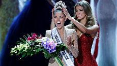 Победительница международного конкурса красоты Мисс Вселенная Деми-Ли Нель-Питерс