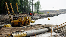 Строительство трубопровода Северный поток-2. Архивное фото