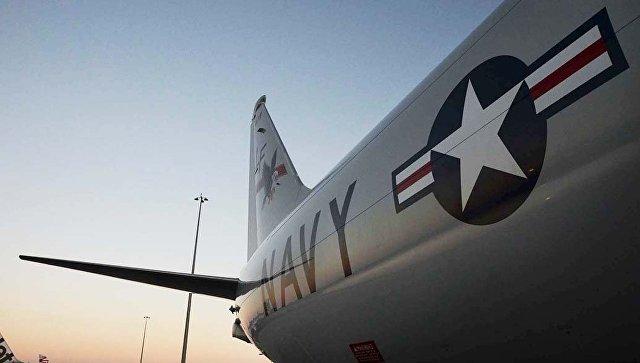 Американский самолет P-8A Poseidon. Архивное фото
