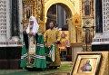 Патриарх Московский и всея Руси Кирилл на открытии Архиерейского собора РПЦ. 29 ноября 2017