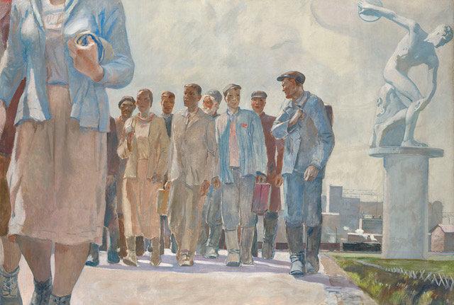 Картина художника из Курска ушла с молотка за 2 млн фунтов
