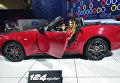 Fiat 124 Spider на автосалоне в Лос-Анджелесе