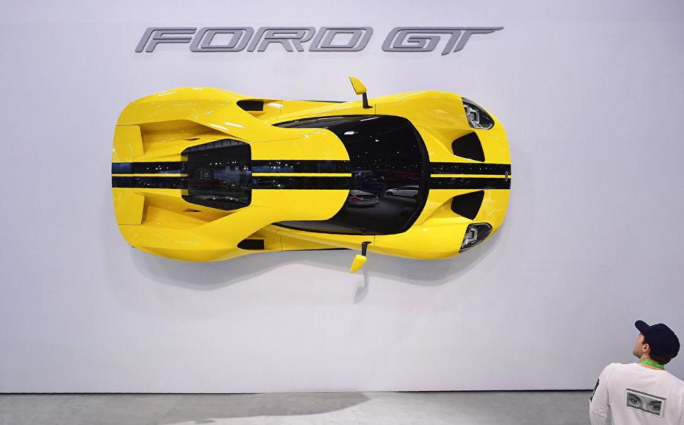 Ford GT на автосалоне в Лос-Анджелесе