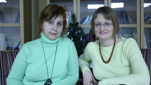 Мария Неретина и Марина Заблудовская