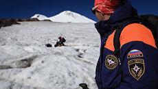 Эльбрусский высокогорный поисково-спасательный отряд МЧС РФ. Архивное фото