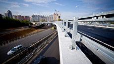 Автомобильная развязка в Красногорске. Архивное фото