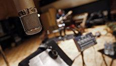 Звукозаписывающая студия. Архивное фото