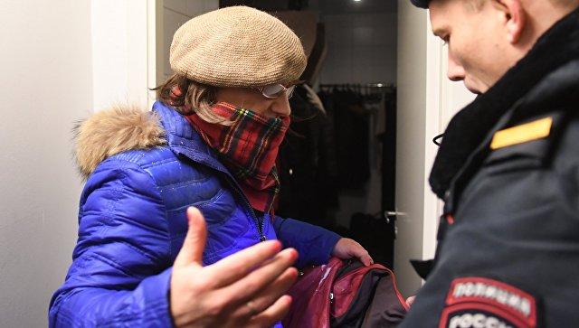 Юрист : обливший фотографии навыставке Стёрджеса мужчина доставлен вотделение милиции