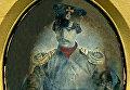 Участник Крымской войны А. А. Александровский, обер-офицер 31-й Гжатской дружины государственного подвижного ополчения в форме образца 1855 года. Дагеротип, Киев. Октябрь 1855 г.