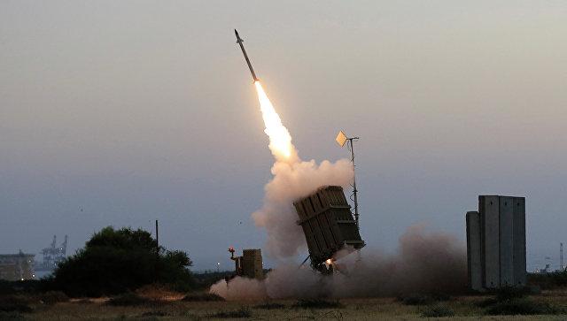 Израильские военные перехватили запущенную изсектора Газа ракету