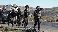 Сотрудники правоохранительных органов Израиля. Архивное фото