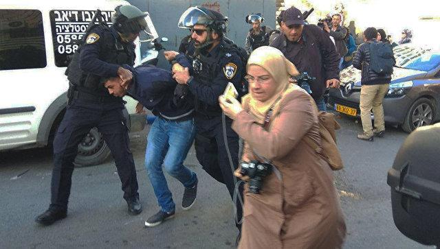 Столкновения в Иерусалиме. 9 декабря 2017
