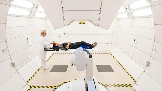 В центре ионной лучевой терапии в Гейдельберге