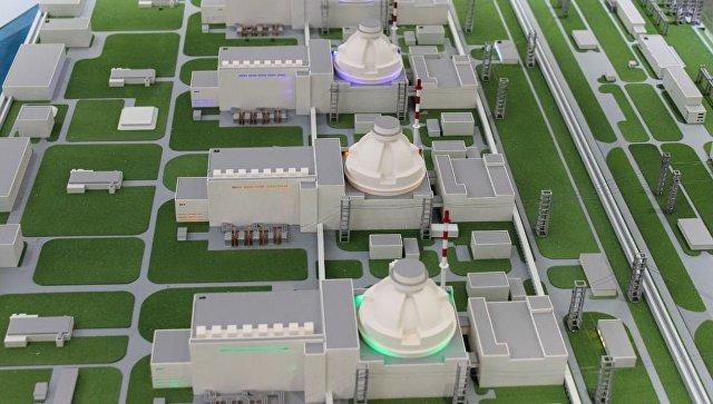 Макет АЭС Аккую в Турции. Архивное фото