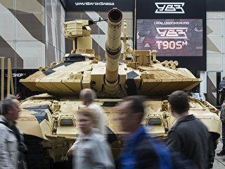 Танк Т-90МС. Архивное фото