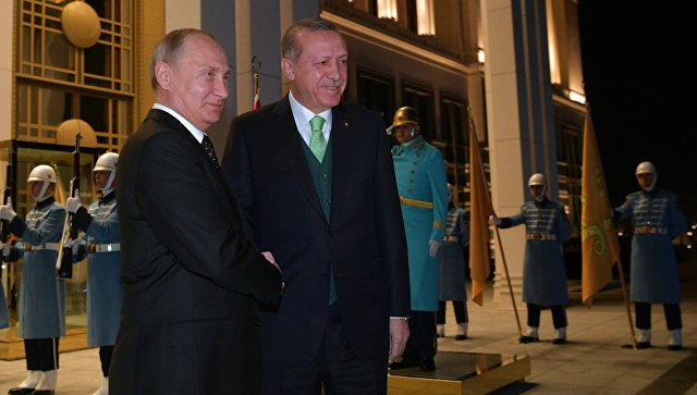 РФ иТурция считают дестабилизирующим решение США поИерусалиму— Путин