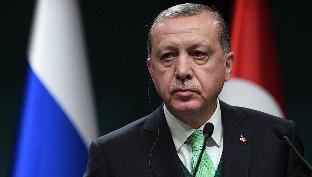 Эрдоган призвал США не посягать на границы Турции