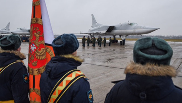 В Калужскую область прибыли самолеты Ту-22М3, участвовавшие в нанесении авиаударов по террористам в Сирии. 12 декабря 2017