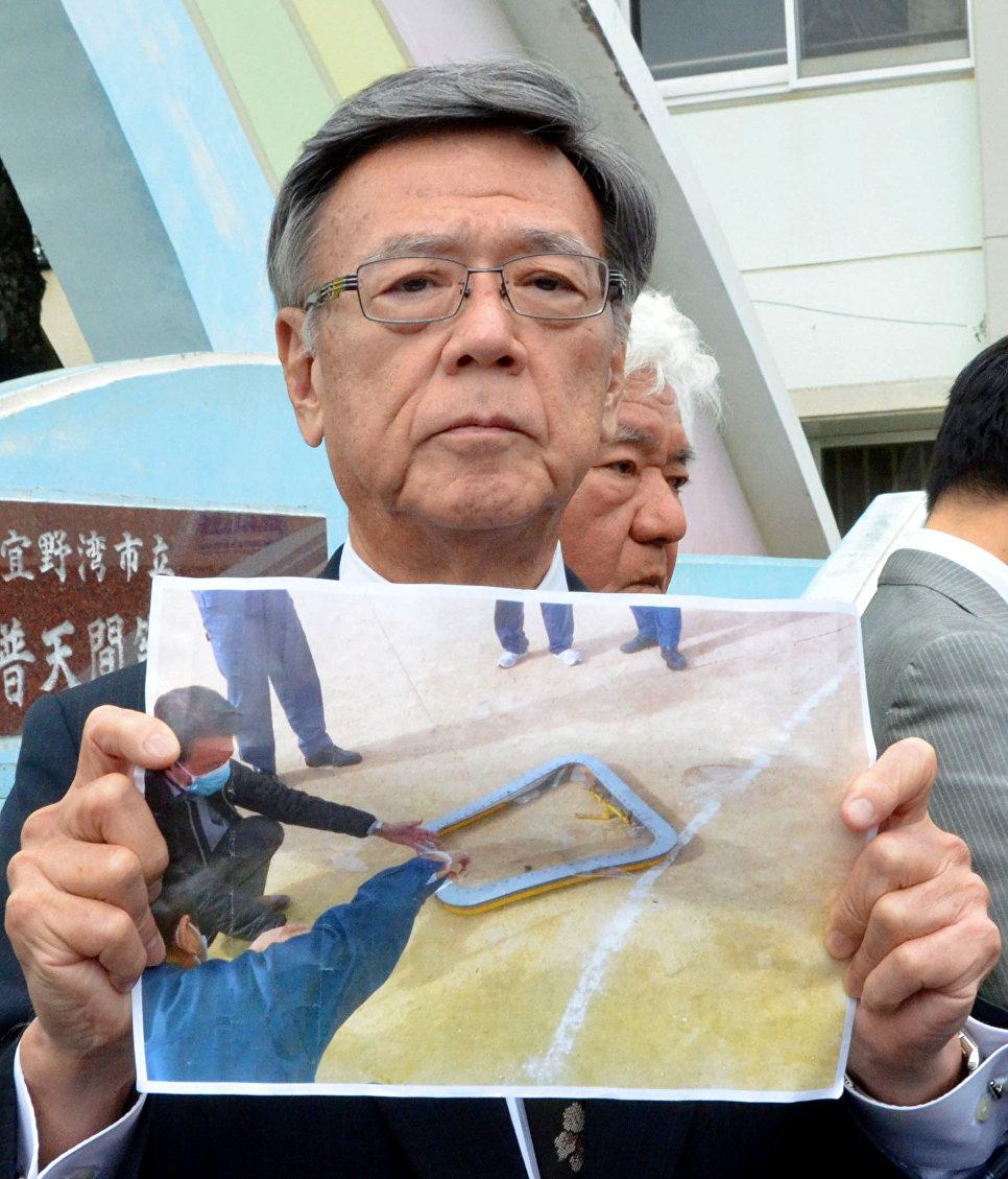 Япония потребовала отСША закончить полеты AH-1 натерритории Окинавы
