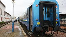 Поезд, который ОАО Укрзализныця запустила по маршруту Киев-Вена