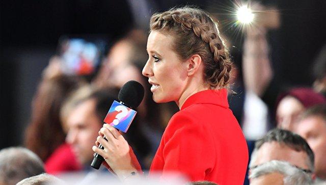 Собчак готова отказаться от участия в выборах ради Явлинского