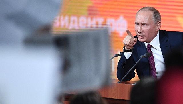 В Сирии открыта дорога к мирной жизни, заявил Путин