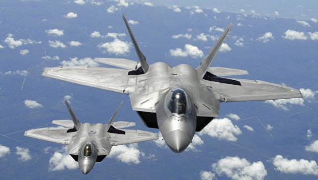Истребитель F-22 Raptor