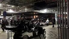 Аэропорт Атланты во время отключения электроэнергии. 18.12.17
