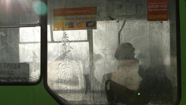 Автобус наКамчатке протащил школьницу несколько метров поземле