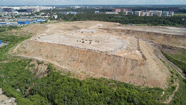 Новая площадка временного накопления отходов построена под Волгоградом
