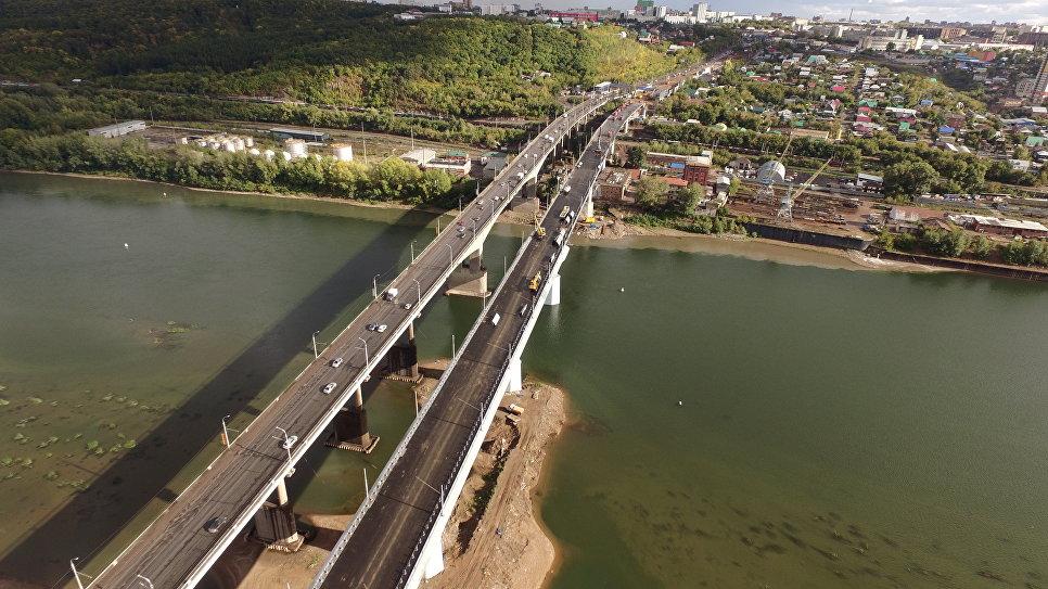 Уфа, Затонский мост