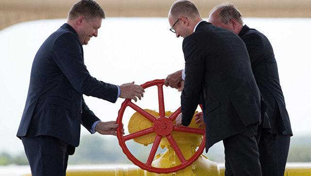 Словакия арестовала поставки газа для украинской компании «Нафтогаз»
