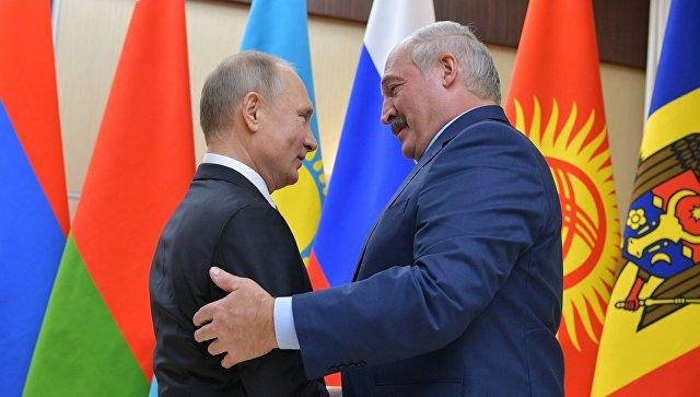 Лукашенко считает триумфом рост торговли между странами СНГ