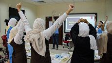 Урок русского языка в Бахрейне