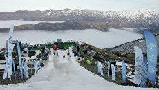 Презентация горнолыжного курорта Ведучи. Архивное фото